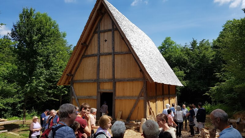 Campus Galli Meßkirch: fertiggestellte Kirche im Juni 2017